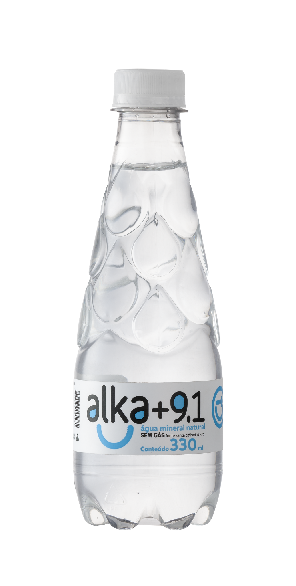 Garrafa 330ML Alcalina PH9.11 PET <u>BPA Free</u> (12un) ALKA